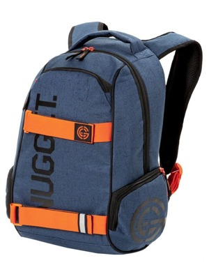 Batoh Nugget Bradley 2 dark heather blue, orange 24l
