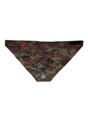 Šátek Nxtz Dual Layer Bandana Crush Camo