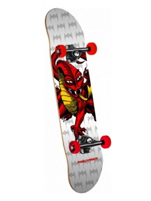 Skateboard Powell Peralta Cab dragon one off assembly white - 7.75 x 31.75