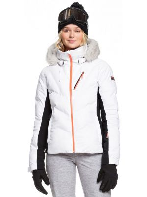 Bunda Roxy Snowstorm bright white