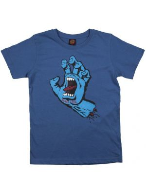 Pánské tričko Santa Cruz Screaming Hand federal blue