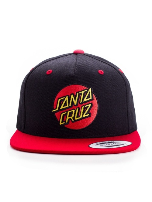 Kšiltovka Santa Cruz Classic Cap red/ black