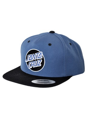 Kšiltovka Santa Cruz Classic Cap black/ federal blue