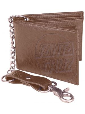 Peněženka Santa Cruz Opus Dot Chain brown