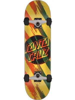 Skateboard Santa Cruz Brush Dot