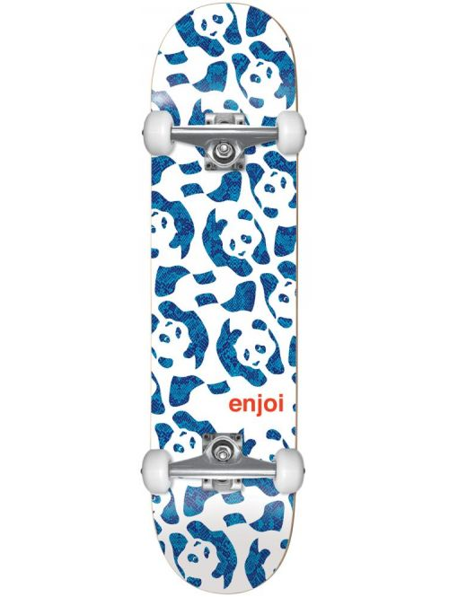 Skateboard Enjoi Repeater white