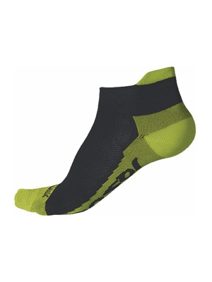 Ponožky Sensor Coolmax Invisible black/lime