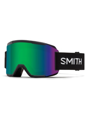 Brýle Smith Squad 16/17 black green sol-x mirror/ yellow