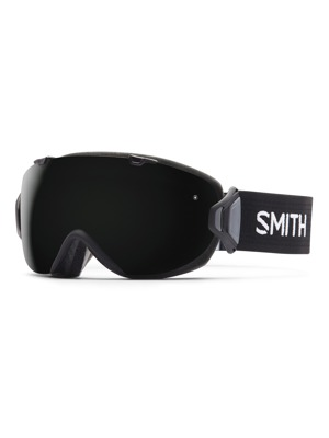 Brýle Smith I/ox 16/17 black Blackout/ yellow sensor mirror