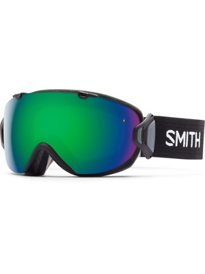 Brýle Smith I/ox 16/17 black Green sol-x mirror/ red sensor mirror