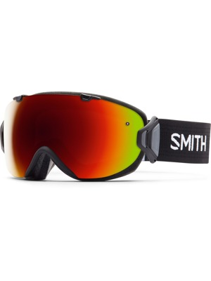 Brýle Smith I/ox 16/17 black Red sol-x mirror/ blue sensor mirror