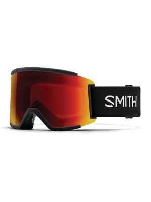 Brýle Smith Squad XL 17/18 black red/yellow