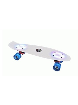 Mini skateboard s podsvícením Buffy Flash