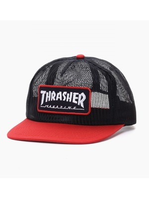Kšiltovka Thrasher Magazine Logo Mesh blue/ red