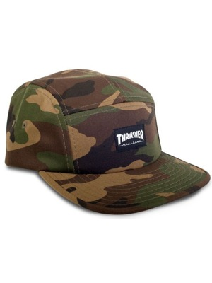 Kšiltovka Thrasher 5-panel camo