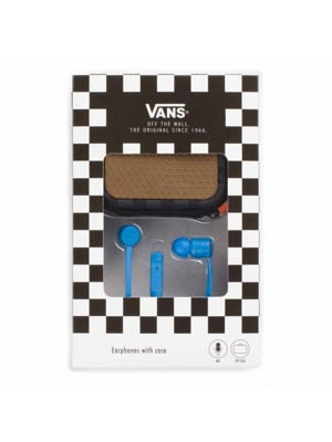 Sluchátka Vans Earphones french blue