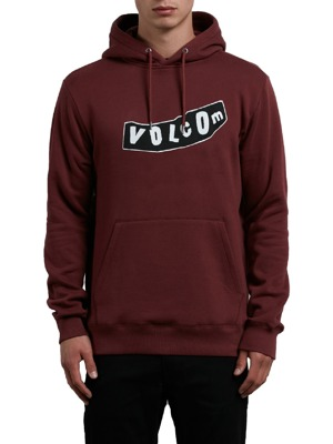 Mikina Volcom Supply Stone P/O crimson
