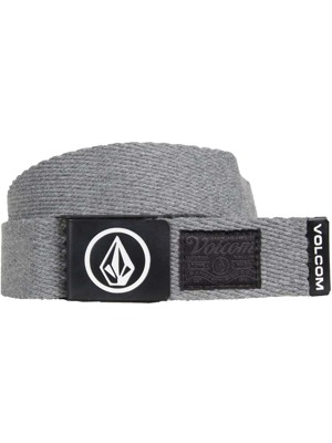 Pásek Volcom Circle Web Charcoal Heather