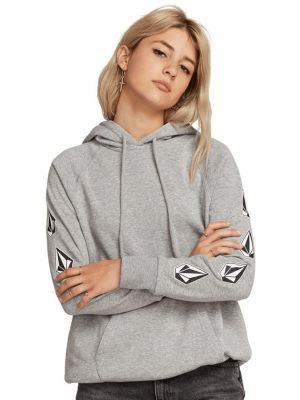 Mikina Volcom Deadly Stones Hoodie Heather Grey