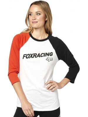 Triko Fox Struck Top White