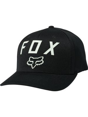 Kšiltovka Fox Number 2 Flexfit Hat black/green