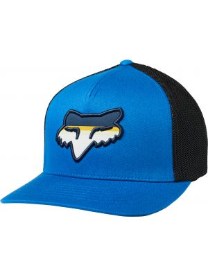 Kšiltovka Fox Head Strike Flexfit Hat royal blue