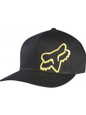 Kšiltovka Fox Flex 45 Flexfit Hat black/yellow