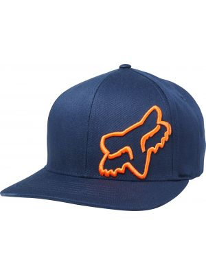 Kšiltovka Fox Flex 45 Flexfit Hat navy/orange