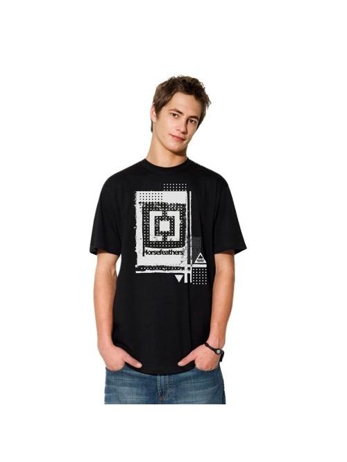 Pánské tričko Horsefeathers Vice black