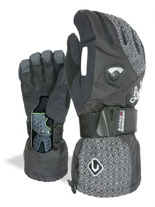 Boardmania.cz Dámské rukavice Level Butterfly dark 0cc0584f0f