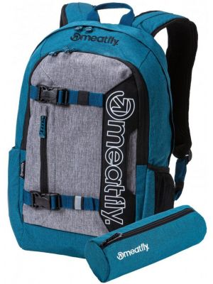 Batoh Meatfly Basejumper 5 heather petrol heather grey 20l