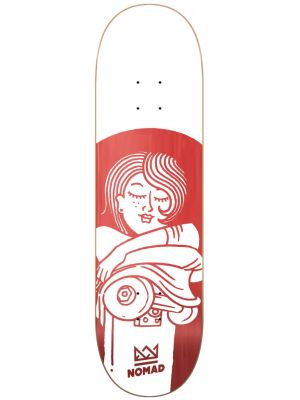 Skate deska Nomad Boobies Red MEDIUM