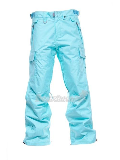 Boardmania.cz Dámské snowboardové kalhoty Nugget Oasis sky blue