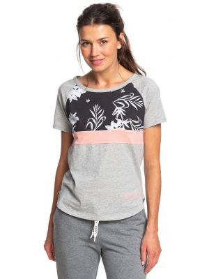 Tričko Roxy Before I Go Tee heritage heather