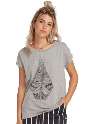 Tričko Volcom Radical Daze Heather Grey