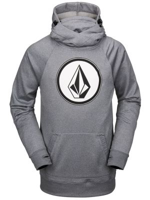 Mikina Volcom Hydro Riding Hoodie Heather Grey