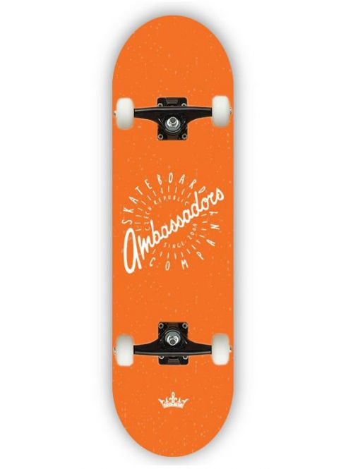 Skateboard Ambassadors Spin orange MC