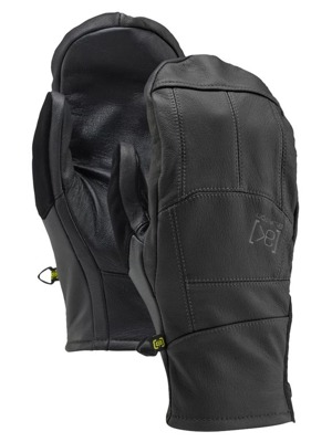 Rukavice Burton Leather Tech mitt true black