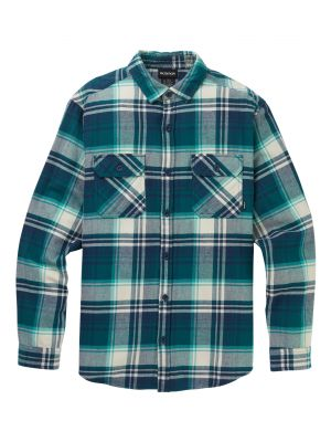 Košile Burton Brighton Flannel Blue Stump Plaid