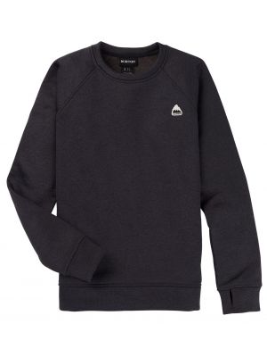 Mikina Burton Oak Crewneck True Black Heather