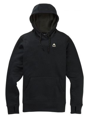 Mikina Burton Oak Pullover True Black Heather