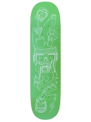 Skate deska Charge JU Figureheads green