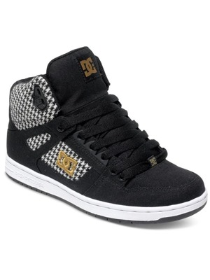 Boty DC Rebound High Tx Se black/ black/ white