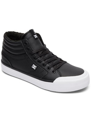Boty DC Evan Hi Wnt Black/White/Black