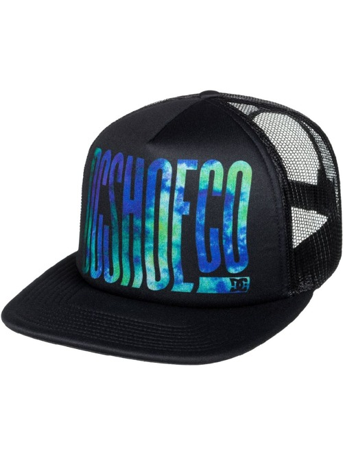 Kšiltovka DC Trippy trucker black