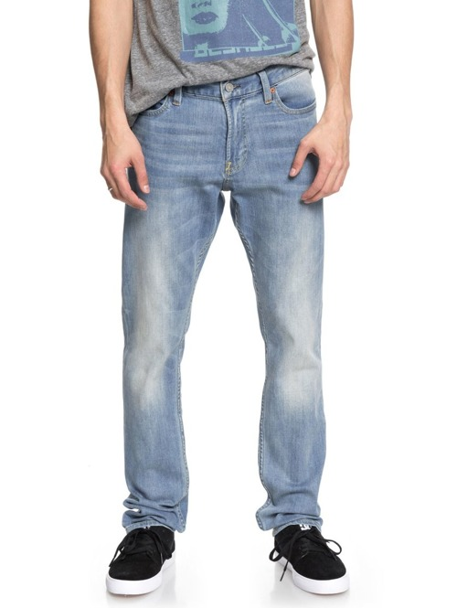 Kalhoty DC Worker Slim light indigo bleach