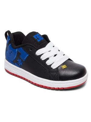 Boty DC Court Graffik Boy Navy/Blue/White