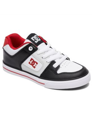 Boty DC Pure Boy Black/Grey/Red