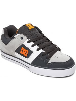 Boty DC Pure dark grey orange