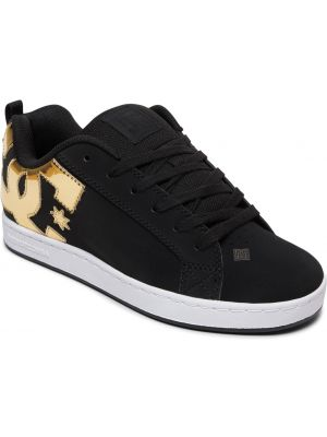 Boty DC Court Graffik black gold